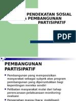 endekatan Sosial Dalam Pembangunan Partisipatif