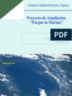 PROYECTO DE AMPLIACION PARQUE LA MARINA