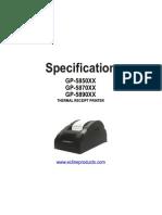 EC 5890X Manual
