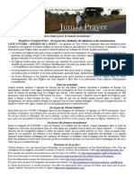 Bulletin de Jumaa Prayer 29 Mai 2015