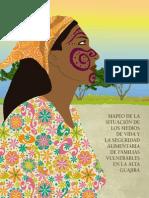 Mapeo de la situación de los medios de vida y la seguridad alimentaria de familias vulnerables en la Alta Guajira