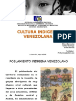 ORIGEN, EVOLUCIÓN Y UBICACIÓN CULTURAS INDÍGENAS EN VENEZUELA
