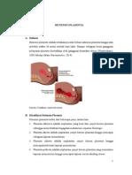 2. Post Partum Hari Ke II Dengan Retensio Plasenta