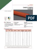 1.3 Cables Duros Clase B - Desnudos de Cobre