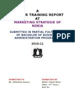 Nokia Marketing Strategies of Nokia