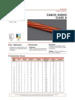 Cables Duros Clase a - Desnudos de Cobre