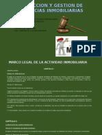 Marco Legal de La Actividd Inmobiliaria .