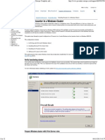 Pcounter Cluster Server Windows
