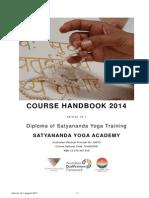 Yogic Studies Course Handbook 2014 v141