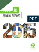 PEFC UK Annual Report 2015