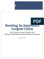 Renting in America's Largest Cities