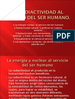 La Radiactividad Al Servicio Del Ser Humano