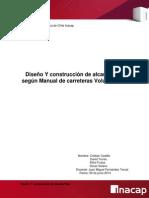 Diseño y Construcción de Alcantarillas Castillo, Frutos, Solano, Torres