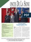 Edition Jeudi 28 Mai 2015 - Numéro 19