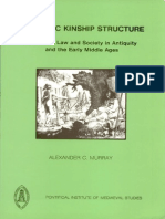 Germany Kinship Structure Study Law&Society in Eraly Middle Age by Murray