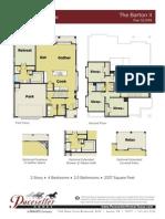 Barton II Floor Plan