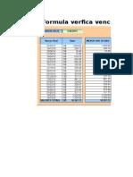 Excel Formula Controle de Vencimentos Funcao Datadif Vencidos a Vencer 2
