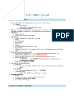 NCLEX Pharmacology LP