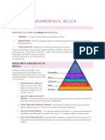 NCLEX Fundamentals