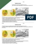 Evaluacion 3ER AÑO LA REVOLUCION INDUSTRIAL