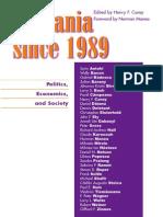 Henry F. Carey Romania Since 1989 Politics EcoBookFi.org