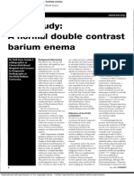 Case Study a Normal Double Contrast Barium Edema