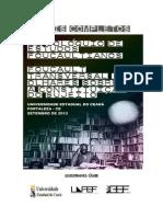 Anais Do II Coloquio de Estudos Foucaultianos 2013 Gef Uece