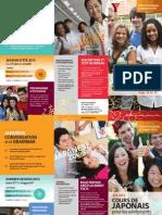 Dépliant cours de japonais pour les adolescents de 13 à 17 ans (été 2015)