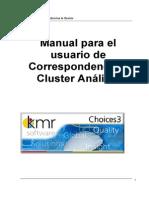 Cluster y Correspondencia Choices 3