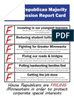 2015 Session Report Card