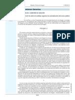 LEY 4_2012 26 Abril Medidas Urgentes Racionalizacion SP Empresarial