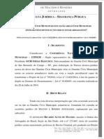 Parecer - Consulta Jurídica - Segurança Pública - Guard-As Civis Municipais Armadas e Estatuto Do Desarmamento