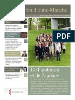 Courrier D'Outre Manche Numero 1 (Mai 2015)