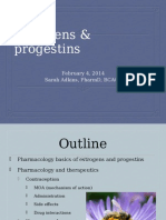 5- Estrogen and Progestins Jan2014