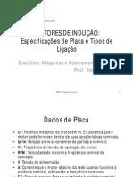 MAE - Dados de Placa e Esquema de Ligacoes Do Motor de Inducao