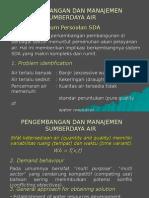 Pengantar PMSDA