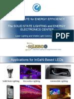 Laser Lighting and Visible Light Communication