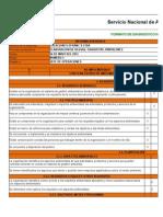 Lista de Chequeo ISO 14001