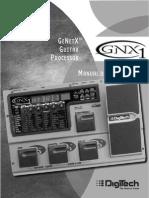 Instructivo pedalera Digitech GNX