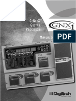 Instructivo pedalera Digitech GNX