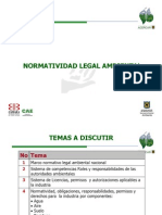 Normatividad Legal Ambiental