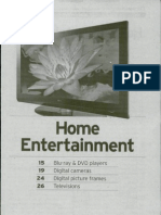 Consumer Reports Buying Guide for Home Entertainment
