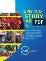 SUNY Study Abroad Guide 2012