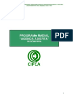Propuesta Programa Radial Agenda
