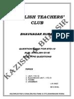 english teachers club