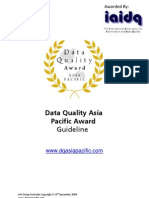 DQAPACAward Guideline