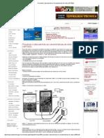 Provando e Descobrindo as Características de Relés (ART003)
