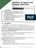 3.Interpolation(numerical methods)