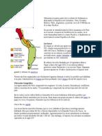 Ubicación Geográfica Incas