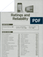 Consumer Reports BuyingGuide 2010 -  All Product Ratings
